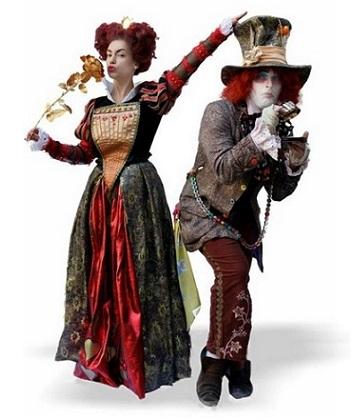 Шляпник и Красная королева - Аниматоры в Таллинне