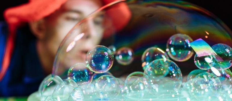 Шоу мыльных пузырей в Таллинне. Детские праздники в Таллинне