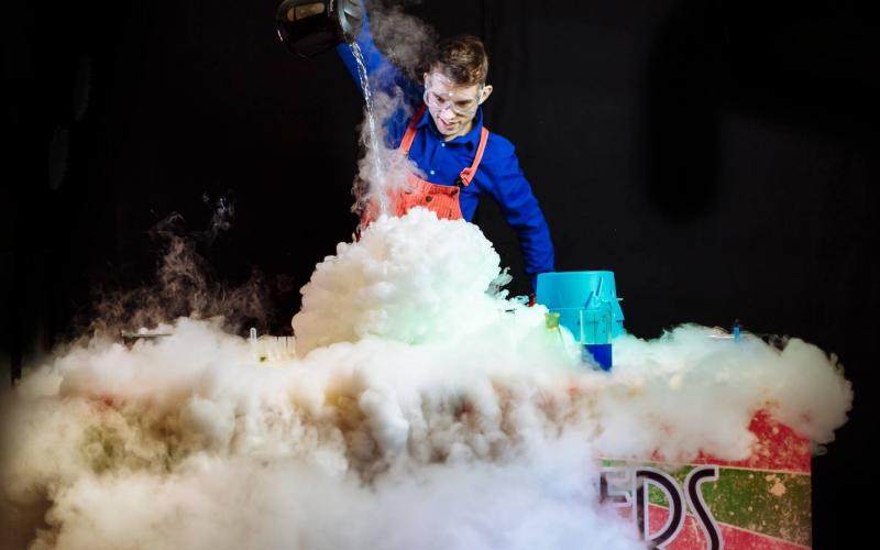 Научное шоу в Таллинне. Детские праздники в Таллинне